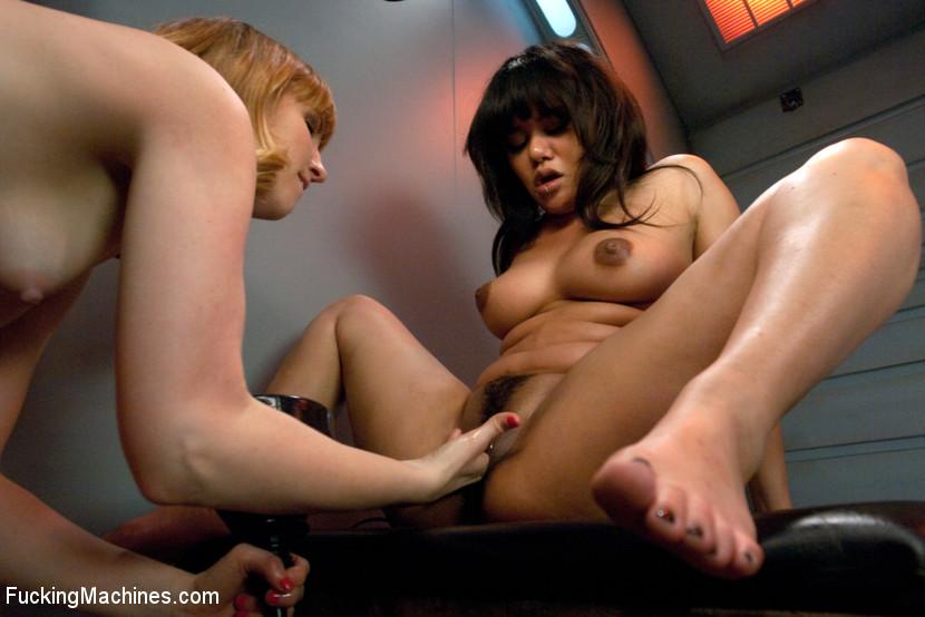 Asian Lesbian Anal Orgy