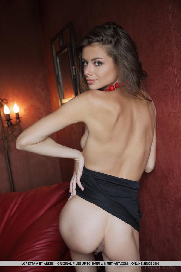 Think, loretta met art nude seems