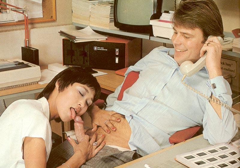 Images - Pleasing his milf boss