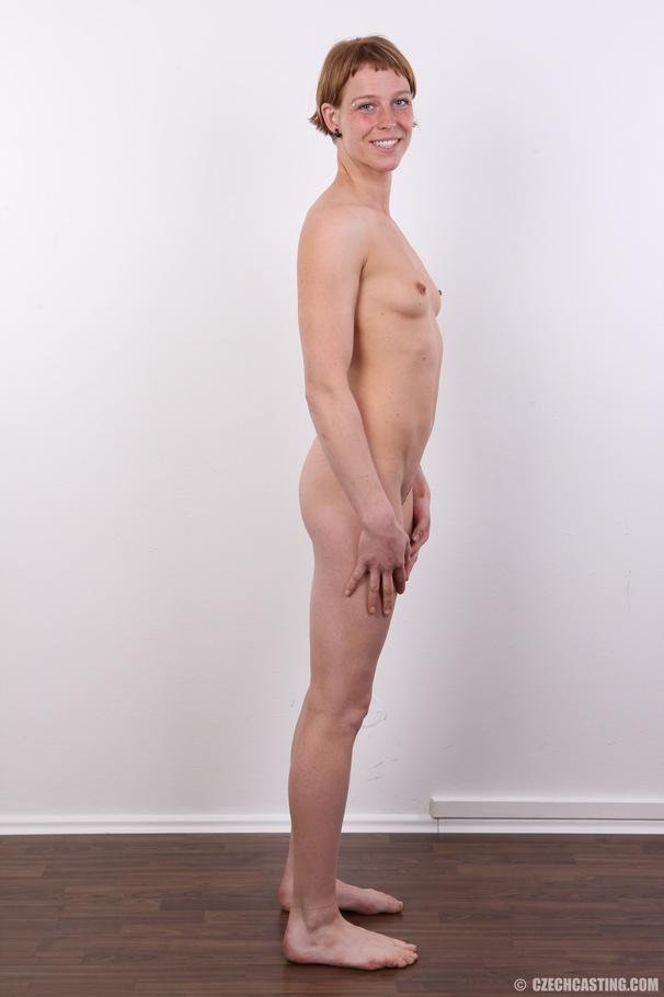 Short hair firm boobs