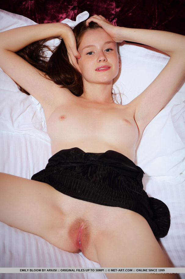Hairy Cute Solo - Young cute damsel with hot hairy pussy, jui - XXX Dessert - Picture 17