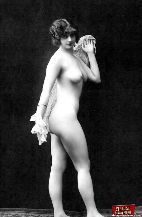 Pretty Sexy Vintage Nudes Standing Naked In - Xxx Dessert -4211