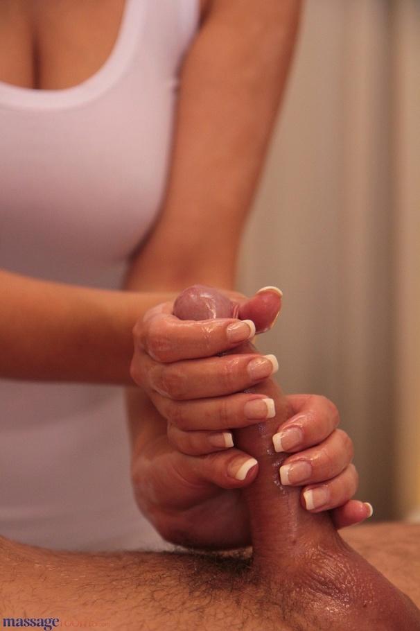 horny oil massage