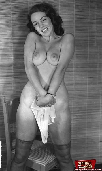 Vintage nude modeli