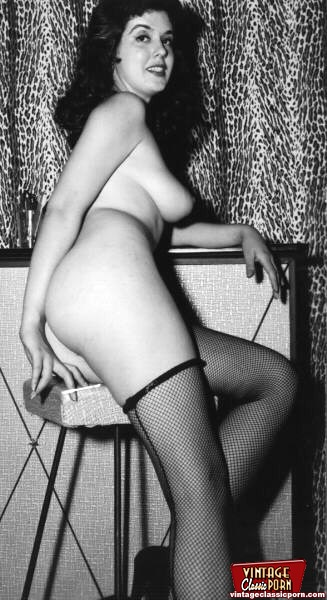 Stockings in vintage nudes consider, that you