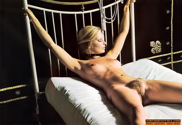 Classic porn babes likes their bushy twats  - XXX Dessert - Picture 3