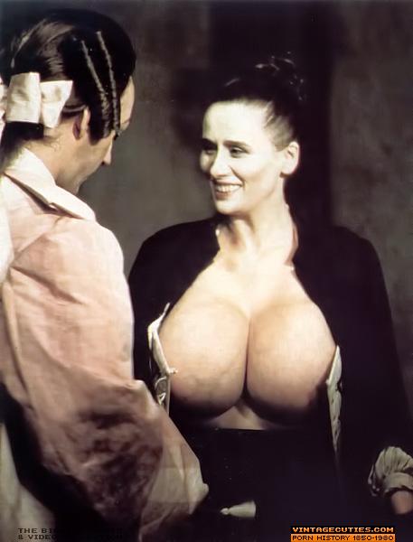 Vintage big tits milf