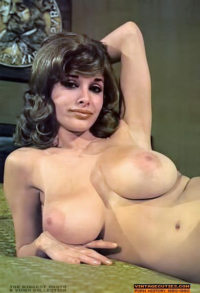 Retro perfect tits