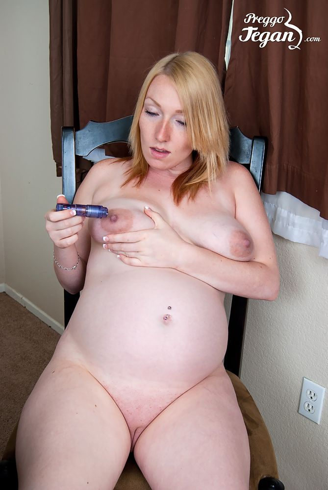 image Pregnant threesome pussy fucking with hot blond