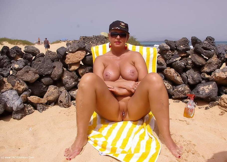 milf at the beach