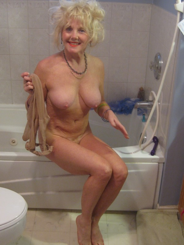 60 plus gilf gets off in wet tshirt 10