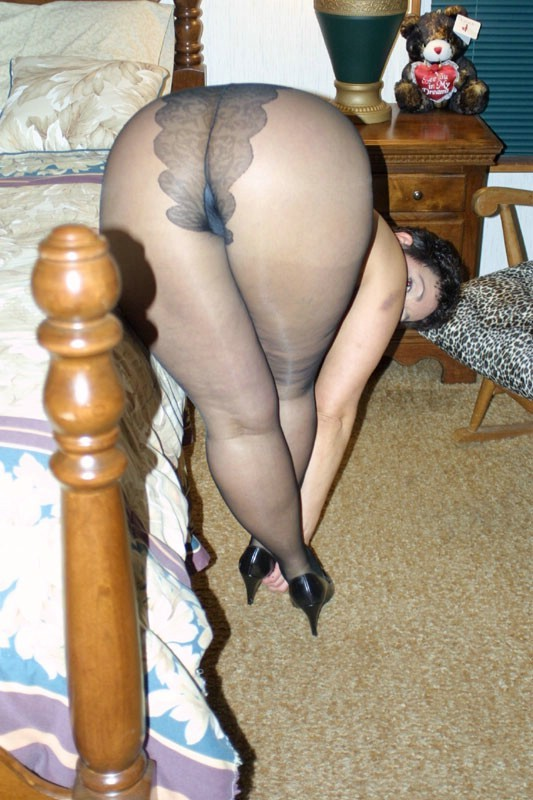 Slideshow pantyhose black girls 5