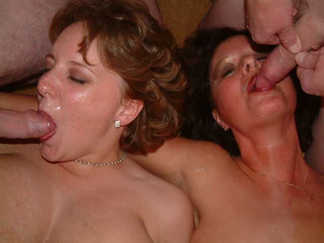 Amateur bbw at gangang gets her pussy licked 6