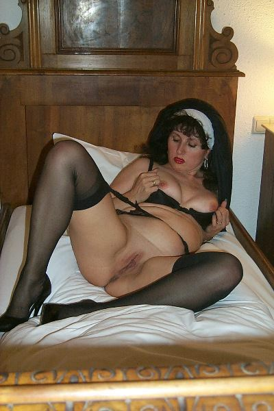 Cougar German Isabel From Europe Naughty Nun - Youxxxx-1877