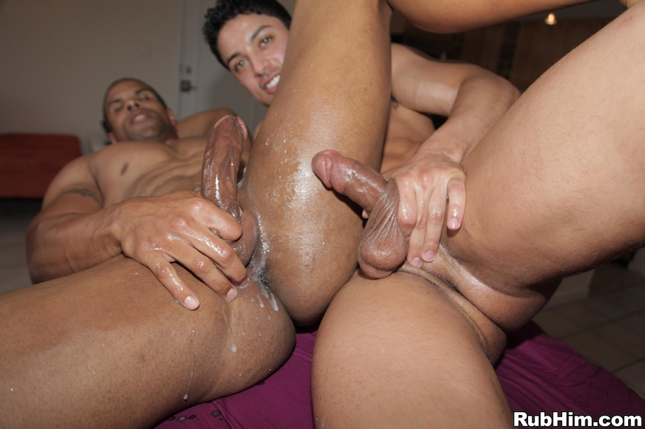 Gay gets blowjob and anal fuck first 7