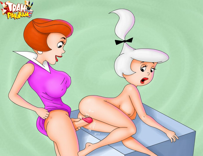 Hi Flagston Judy Jetson Porn - Dirty Jane form Jetson drilling her blonde friend with a strapon hard -  CartoonTube.XXX