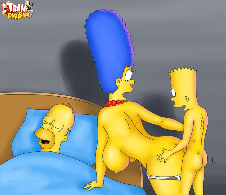 Simpsons porn 1 bart fuck marge cartoon