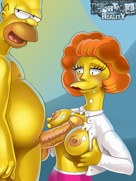 Simpsons Sex Orgy