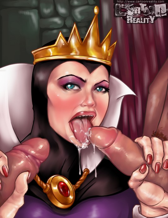 Milf Queen Sucking Cocks
