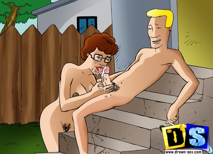 Peggy hill cartoon porn-1184