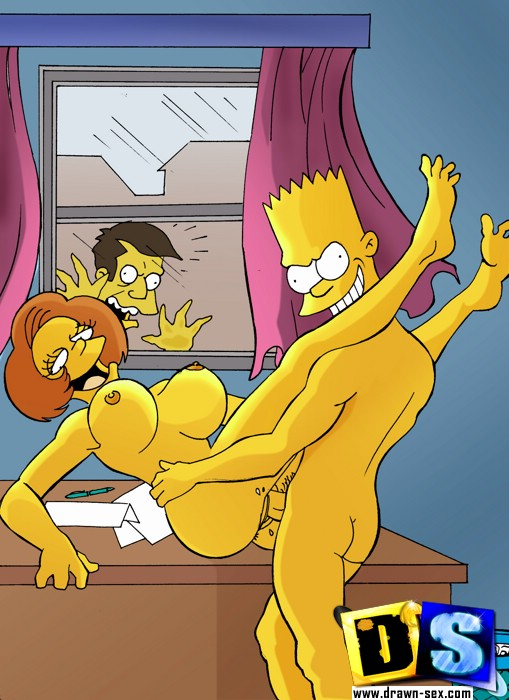 Naughty Bart Gets His Cock Sucked And Fingers Mum And Bang -6001