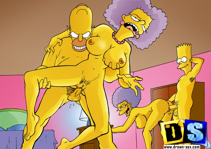 image Cartoon porn simpsons porn brother and