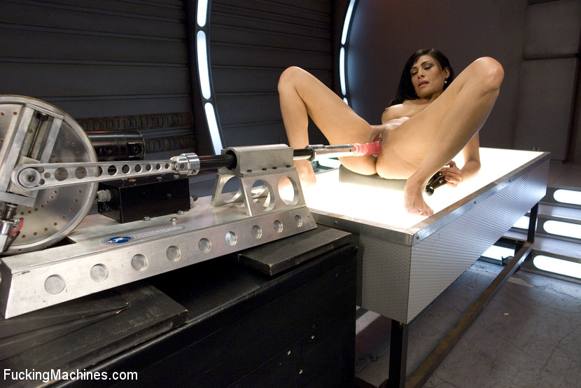 Sexy brunette gets her horny pussy fucked h - XXX Dessert - Picture 9
