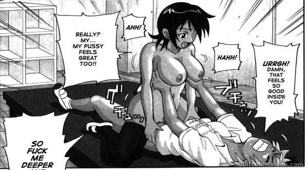 anime comics porn