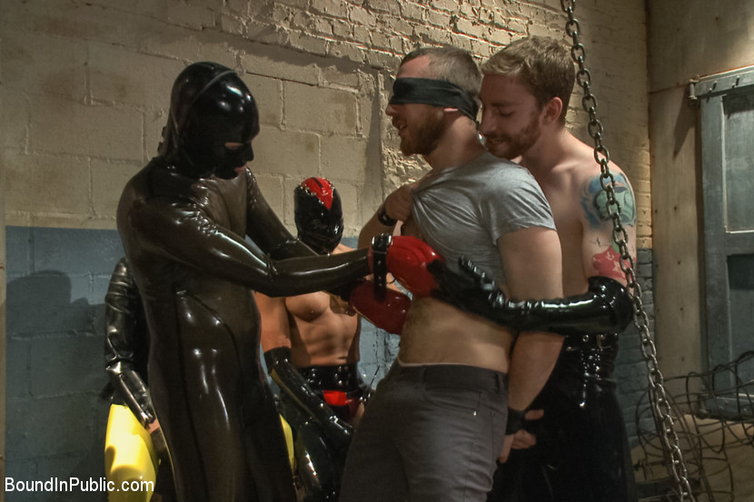Free gay rubber porn