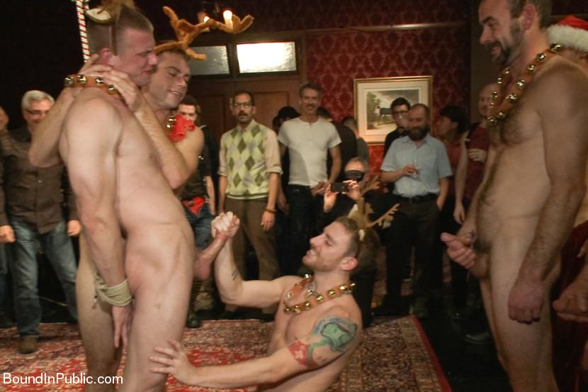 Naked santa gay porn
