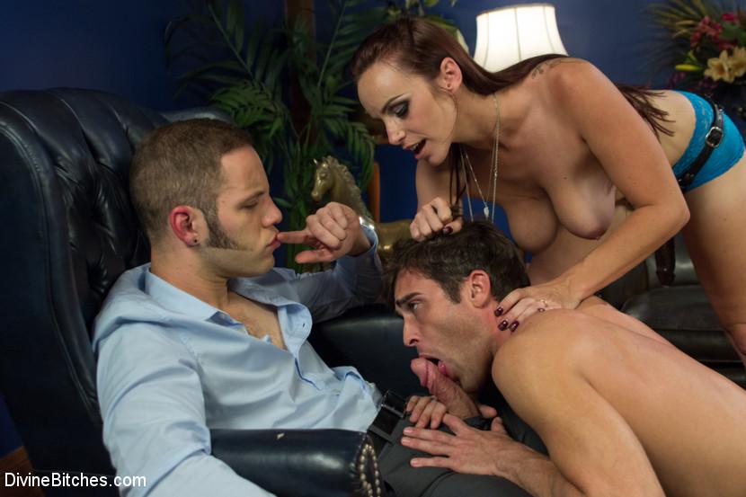 Allie Haze Anal Threesome