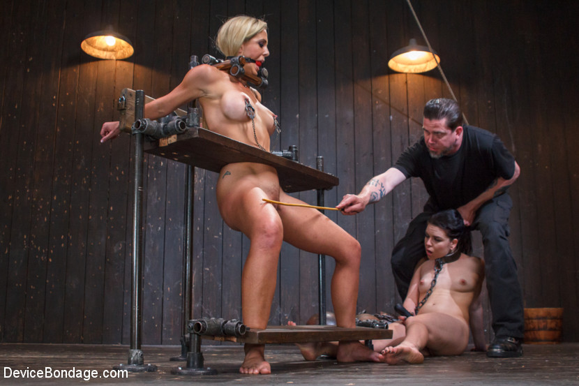Girls Dominate Guy Bondage