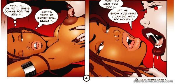 vampire cartoon sex