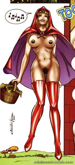 Useful Little red riding hood cartoon porn