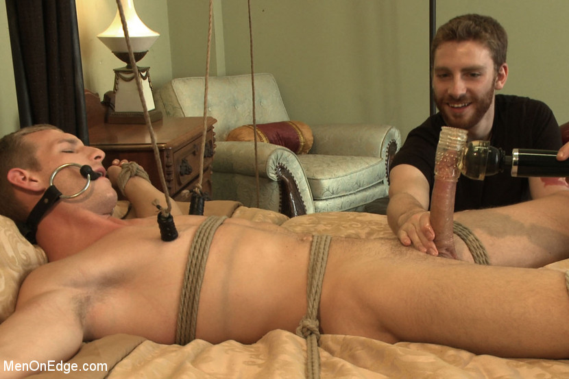 Sweet torment as dude ties guy up and works - XXX Dessert - Picture 11