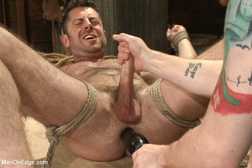 Sexy naked man in barn final