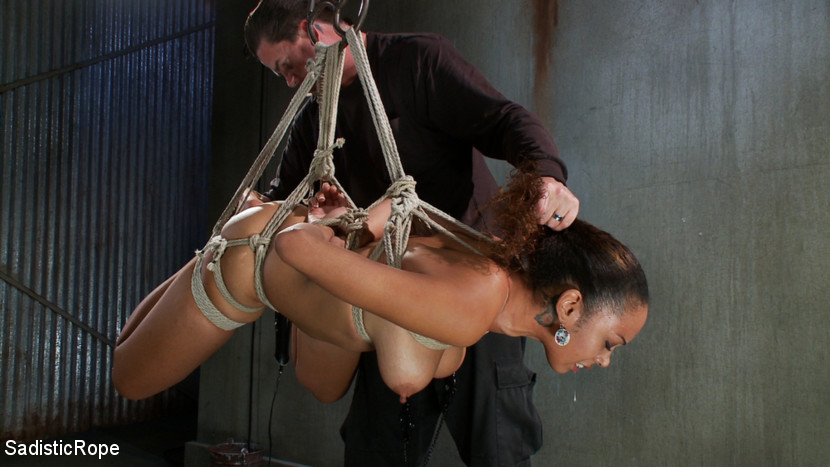 Sadism black tits bdsm