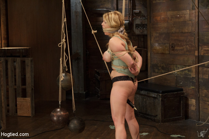 Naked girls in roped roped boobs