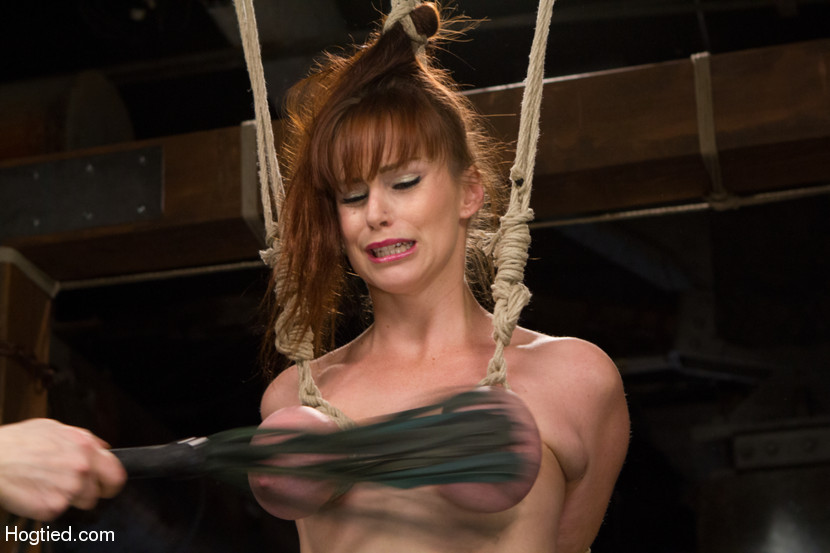 Tits bondage tied bound breasts