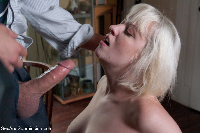 Big Natural Blonde Handjob