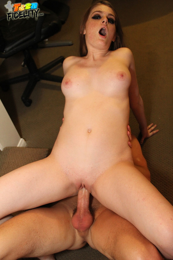 Lusty Redhead Unzips Her Her Smooth Black See Through -2952