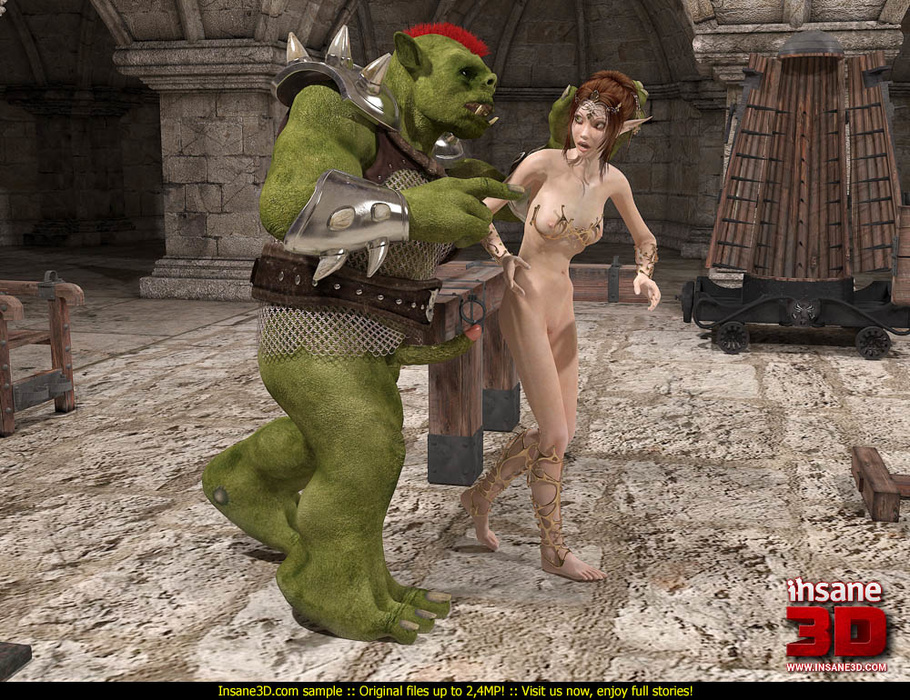 3d girl fucked by an alien soldier