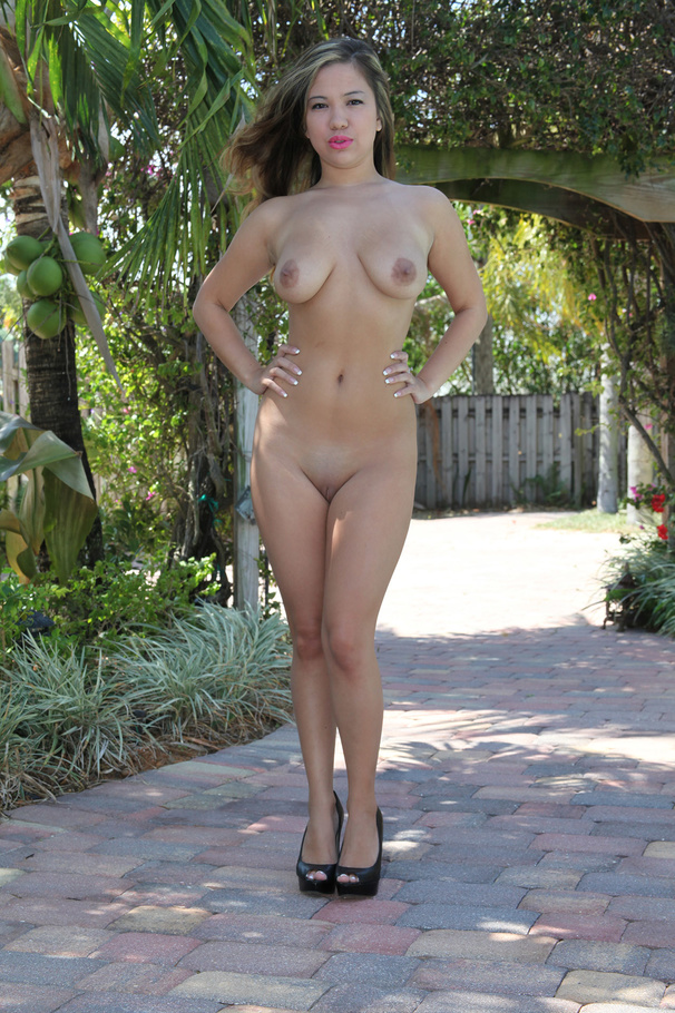 Black tits outdoor nude