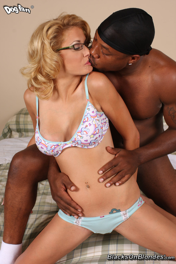 image Blonde milf glasses facial first time