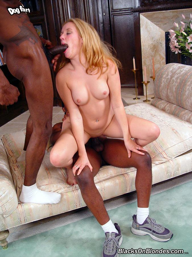 blacks on blondes interracial