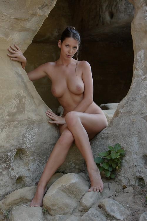 Tall slender sexy big boobs
