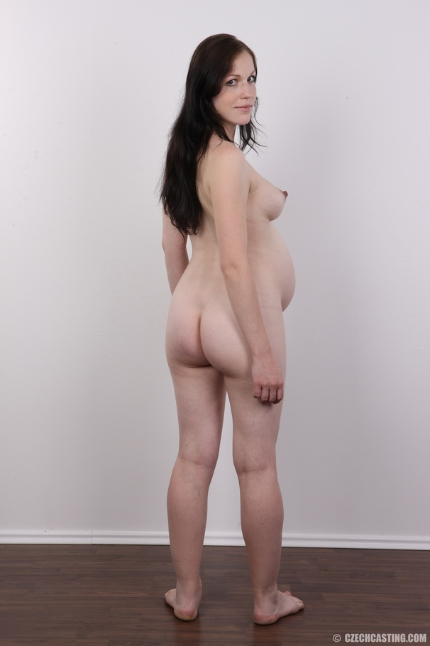 Czech Casting Pregnant Porn - Busty brunette babe with hairy snatch is pregnant and wants to become a porn  model too. Enter Czech Casting!