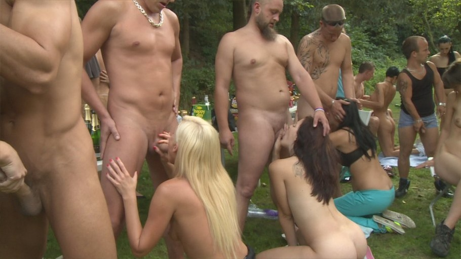 Home orgy party