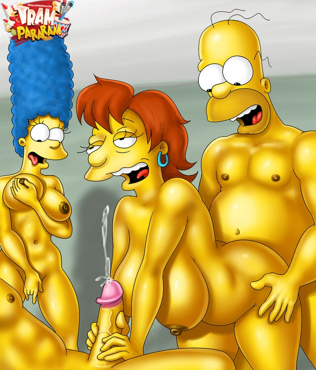 Interracial cartoon simpsons