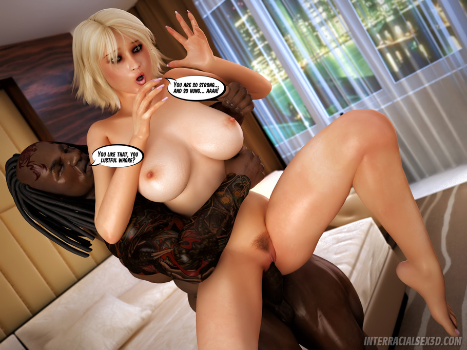 Interracial blond sluts